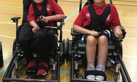 FAST forward for Tees powerchair duo