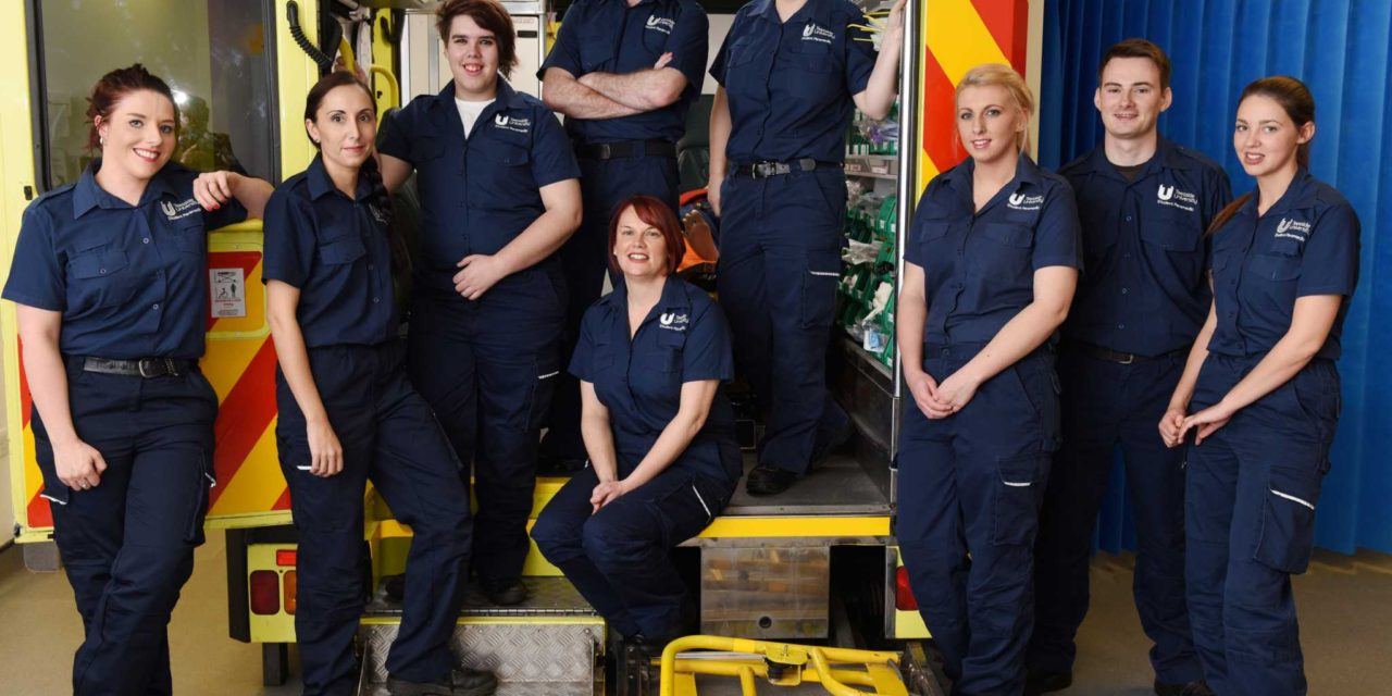 Teesside's paramedic students take up professional roles