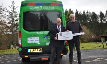Northumberland youngsters benefit from new Lord's taverners minibus