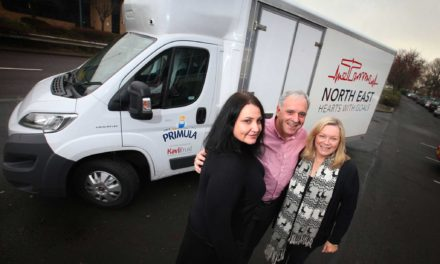 North East Charities get Huge Christmas Surprise from Primula Cheese