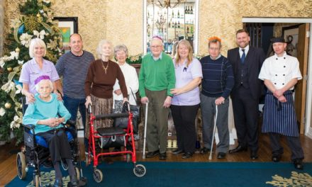 Care home residents guests of honour at Darlington restaurant to celebrate festive season
