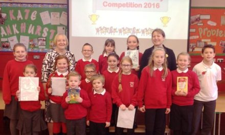 Primary pupils enjoy poetry