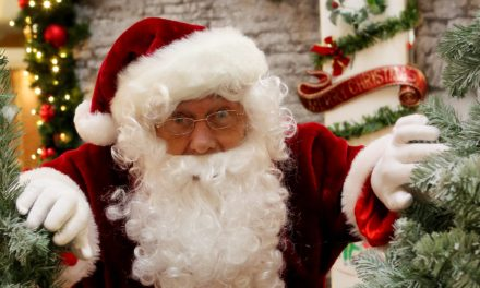 Santa brings festivities to Coulby Newham