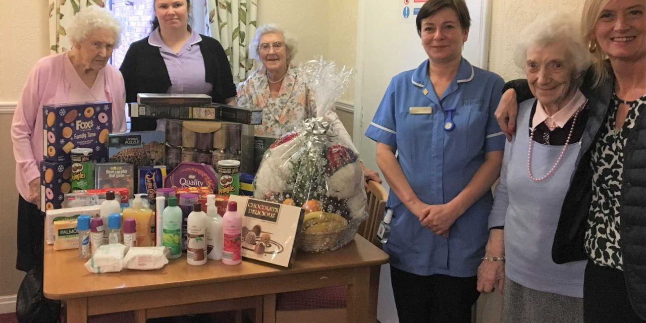 Donations fly in for Stockton care homes' Christmas appeal