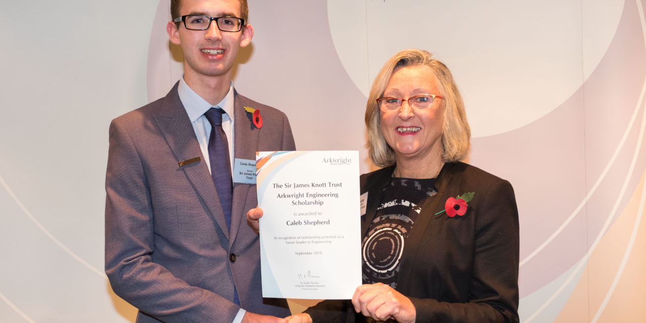 Pupil awarded Arkwright scholarship