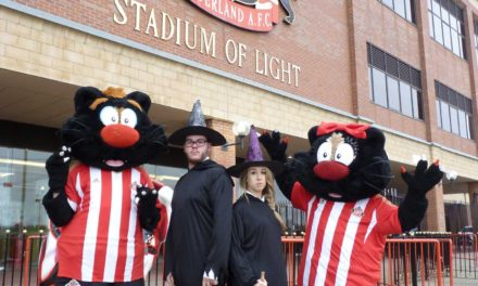 Panto fun at the Stadium of Light