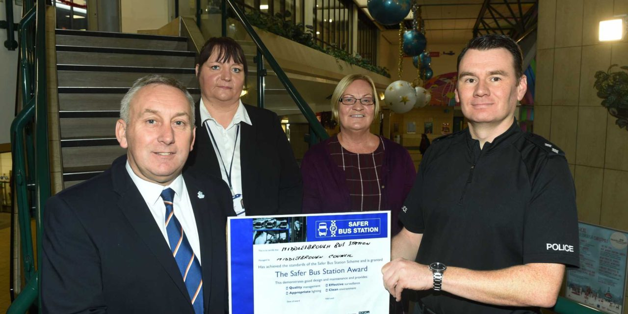 Bus Station first in North East to win safety award