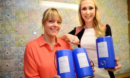 Housebuilder's festive fundraising raises over £400 for local charities