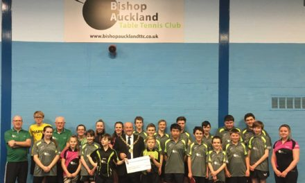 Town Council supports Table Tennis Club