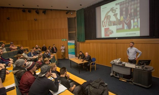 University press conference puts Sunderland AFC stars in the spotlight
