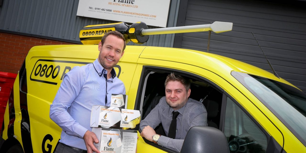 Flame and 0800 combine to support North East's installers