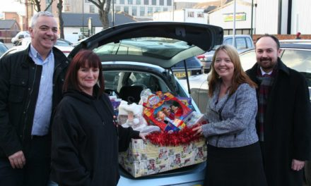 Redcar's Cygnet Law gives the gift of giving to The Junction