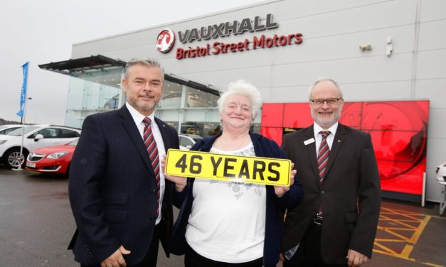 Bristol Street Motors Newcastle Vauxhall says farewell to colleague of 46 years