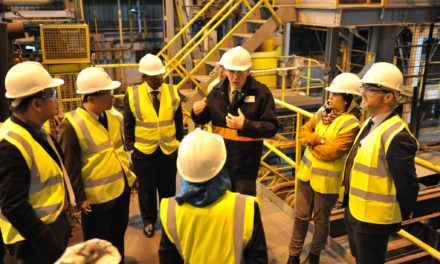 Materials Processing Institute supports Malaysian Plan for investment in UK metallurgy and training expertise.
