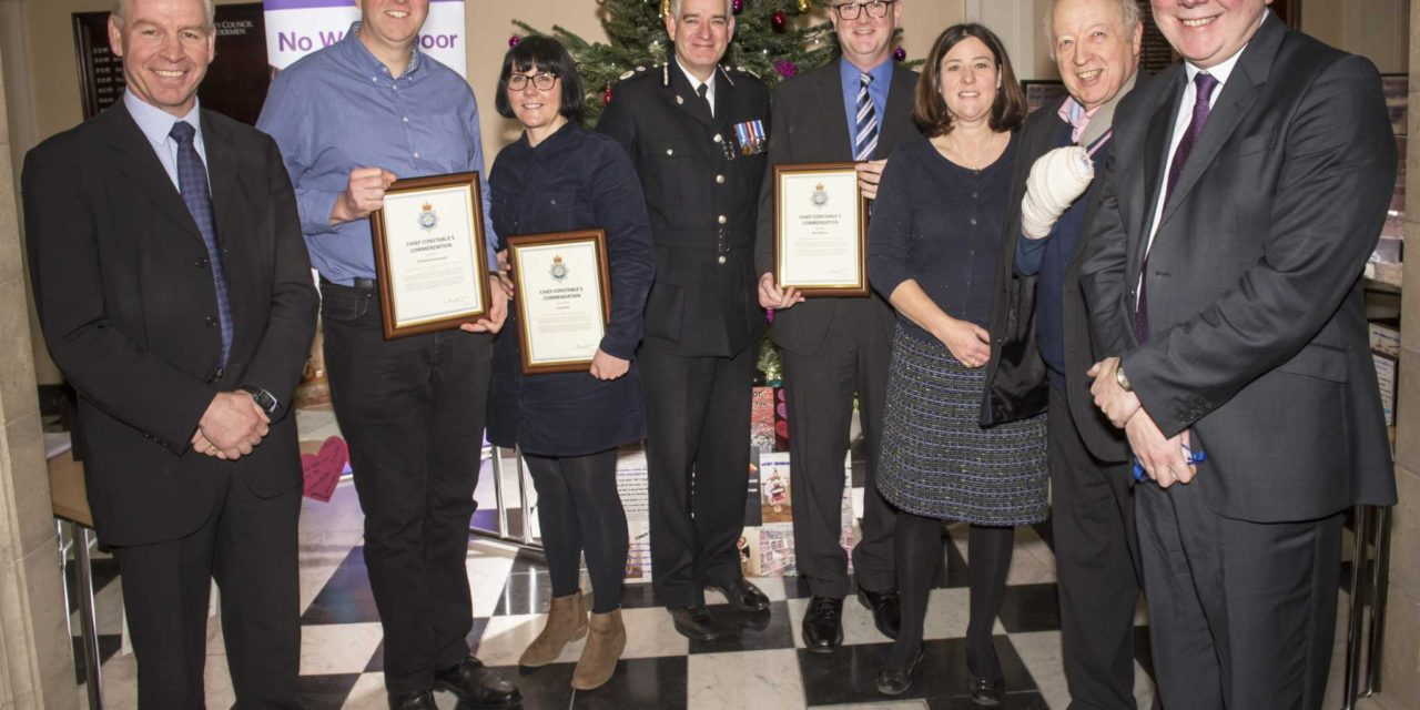 Police commended for ground-breaking work with young people