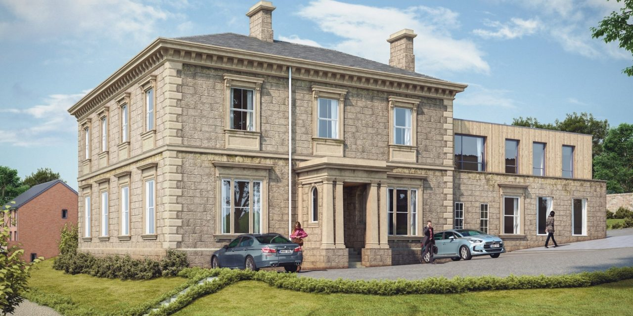 Locally listed building renovated as part of new Gateshead housing development