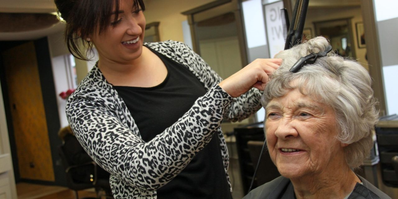 OAPs enjoy a morning of pampering