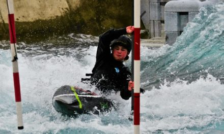 Young kayaker promoted to the premiership