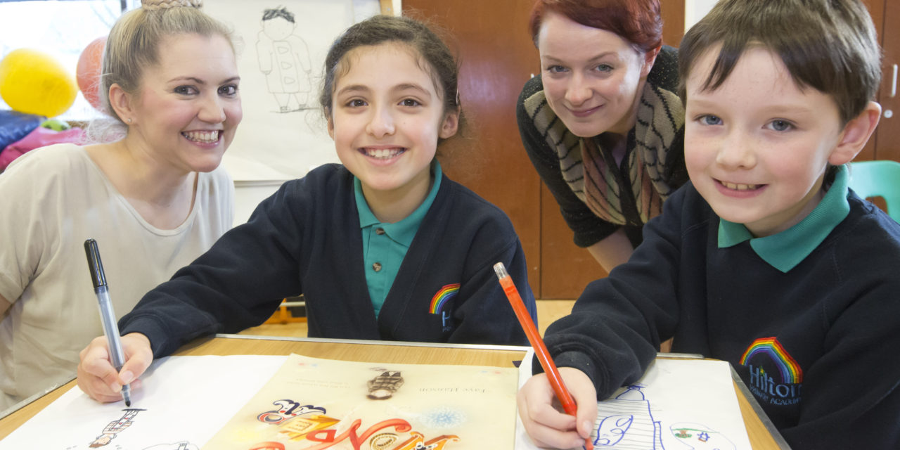 Children's author launches new chapter for library
