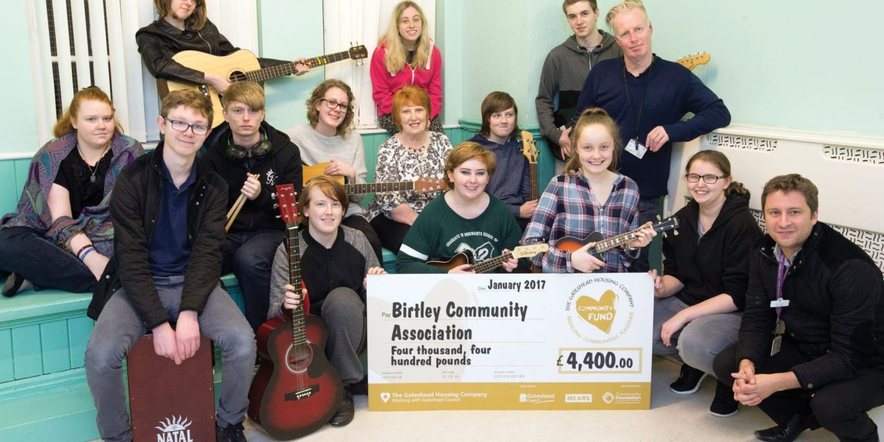 Grant for Birtley music group