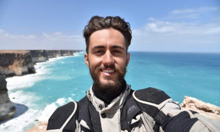 North East biker has become the youngest person to circumnavigate the world by motorcycle