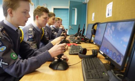 Air Cadets Are Put Through Their Paces