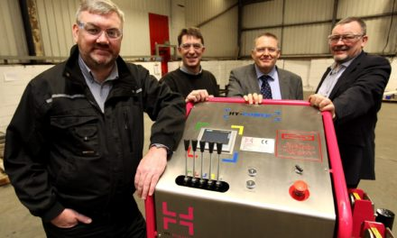 County Durham engineer launches shipping essential for worldwide market