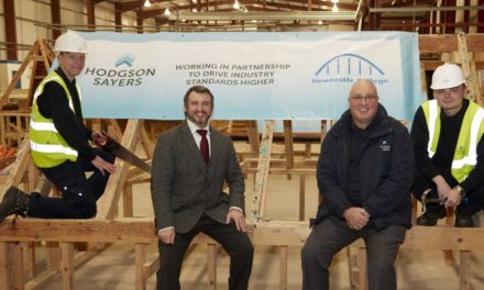 Construction firm lays the foundations for growth through apprenticeships