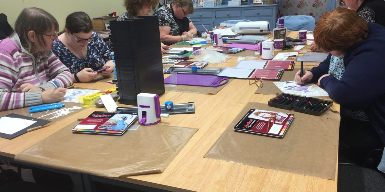 Crafter's Companion raise hundreds for MIND