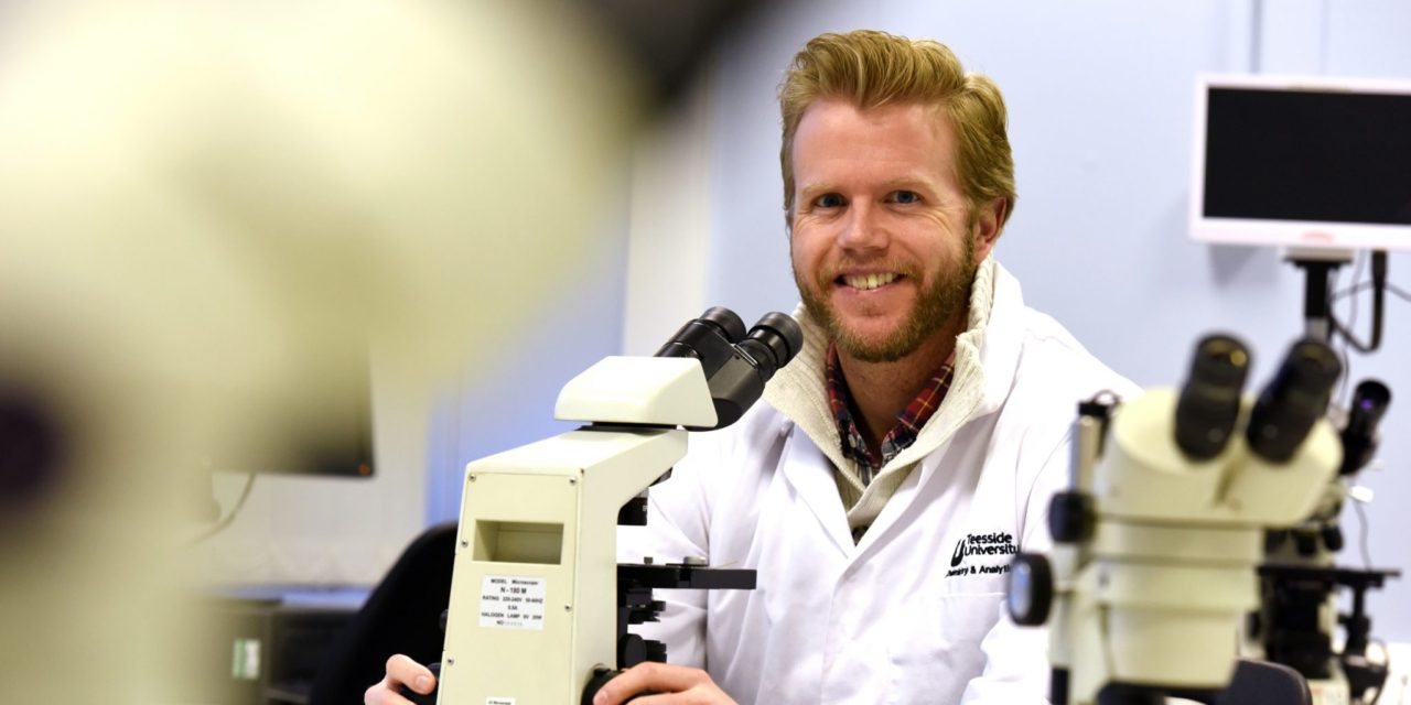 Research brings forensic expert from California to Teesside University