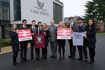 Yarm School students set for Oxford and Cambridge