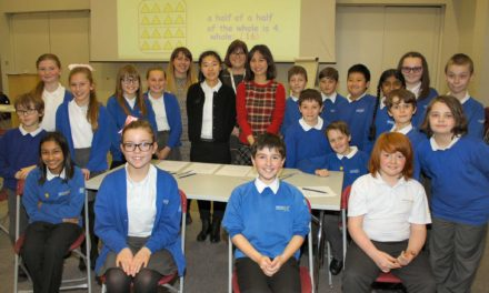 Young number crunchers turn to the Far East for inspiration with their maths