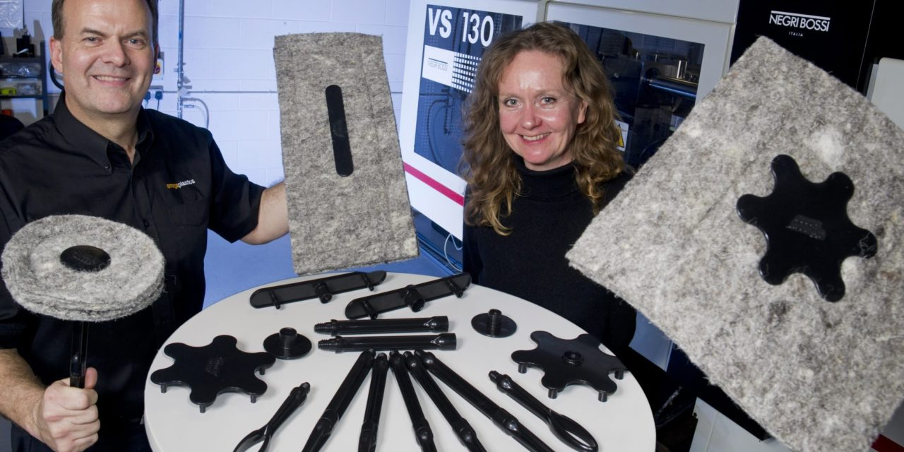 Omega Plastics help Cumbrian eco entrepreneur shear her way to international success