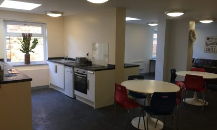 Corporate donation provides finishing touches to Byker hostel