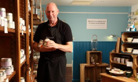Northumberland candle maker shortlisted for national award
