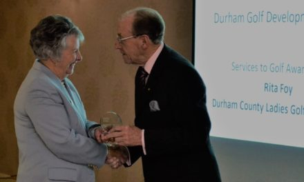 Awards night hails unsung heroes on Durham golf scene