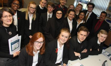 Academy students team up with Royal Society on science project