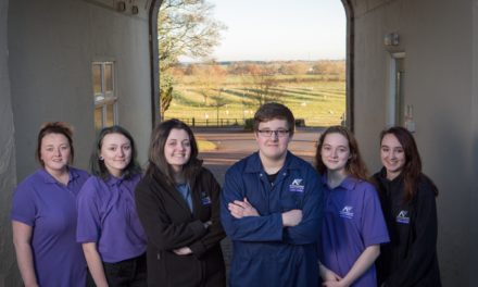 Northumberland Career College's first cohort of students make promising start