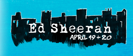 Ed Sheeran Announces Tour Dates across UK & Ireland