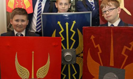 History comes to life at academy