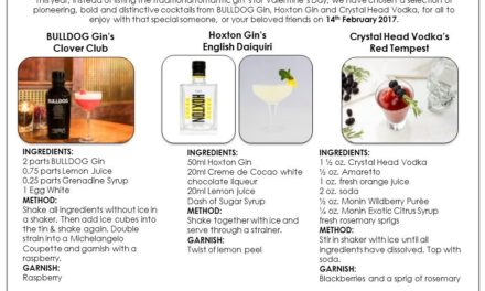 Valentines Day Cocktails, made for you