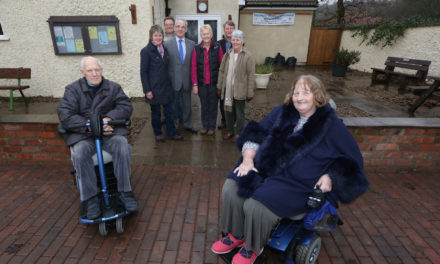 Access for all car park at Kirkby Fleetham thanks to council grant