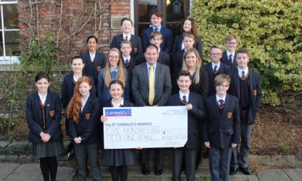 Pupils raise vital funds for local charity