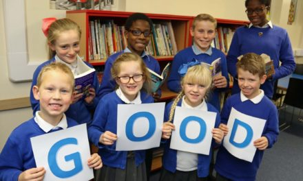 Students celebrate top inspection