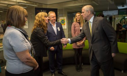 HRH The Duke of York launches University's Higher and Degree Apprenticeships