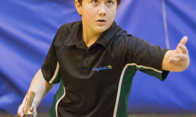Students bat their way to success in England Schools table tennis championships