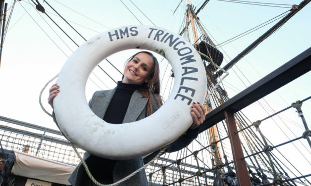 HMS Trincomalee celebrates history of Royal Navy to kick start fundraising campaign