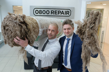 Insulation division launch for 0800 Repair Gas