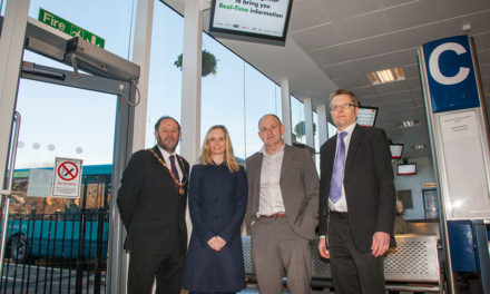 New digital signs for Morpeth Bus Station