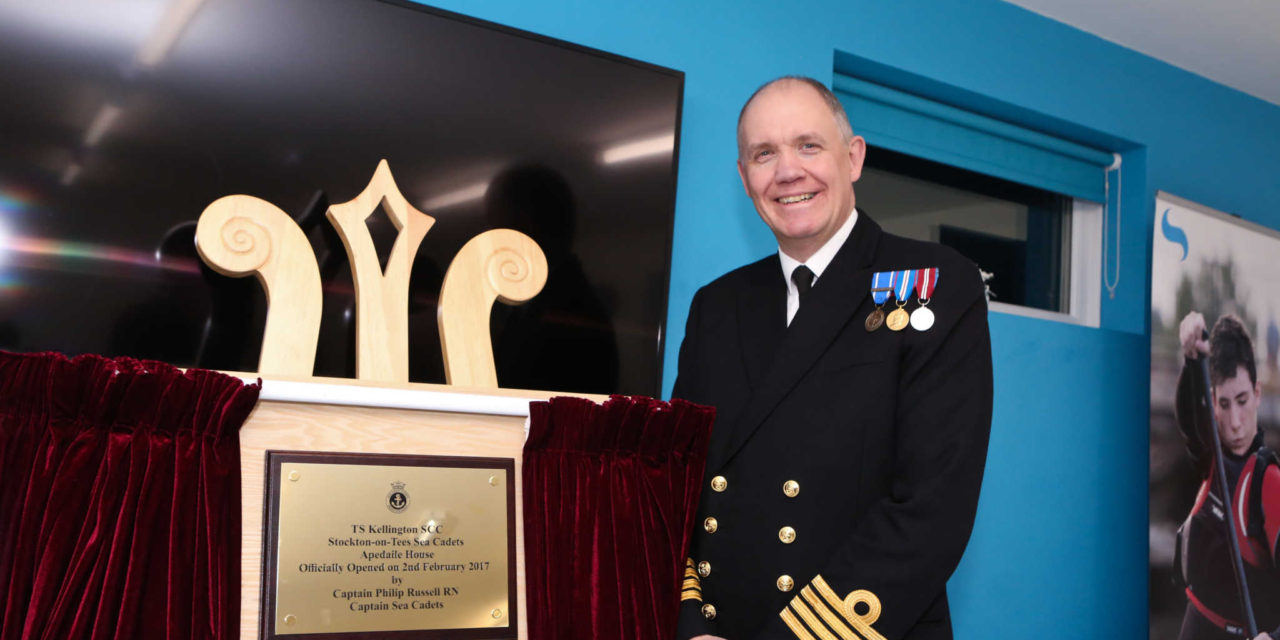 New Stockton-on-tees sea cadets base officially open